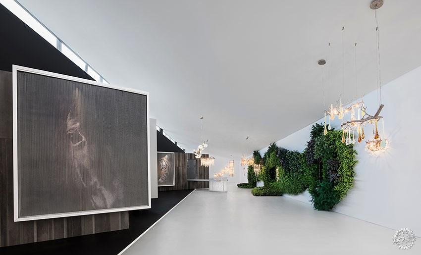 遇见一束光的设计|葡萄牙SERIP灯具展厅第17张图片