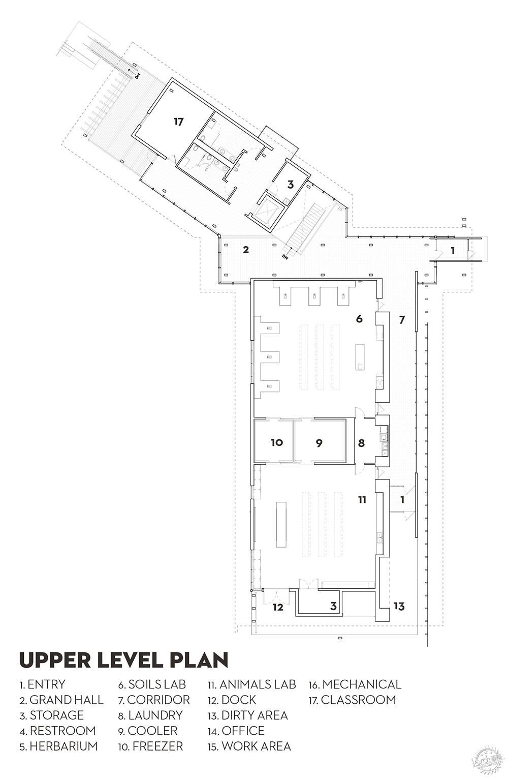 场地平面图/site plan