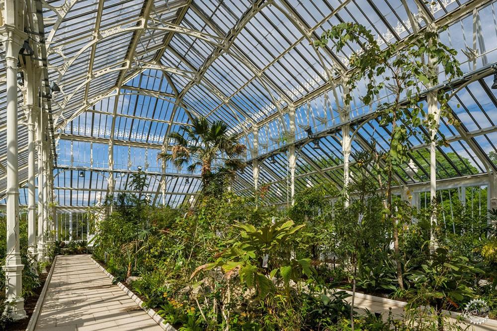 这座玻璃温室,既是精致艺术,也是视觉盛宴-景观建筑