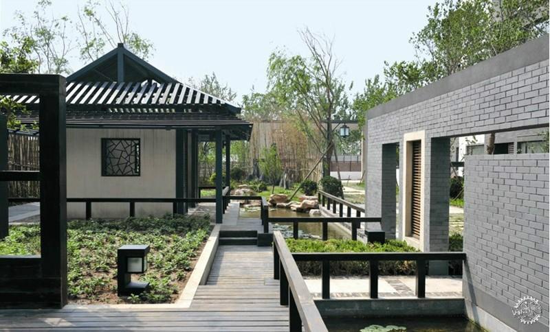 中式庭院,这世间最雅致的院子-庭院景观设计 居住区