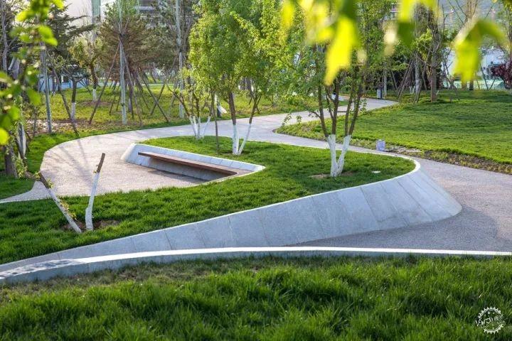很有设计感的景观树池-新景观设计|景观构筑物-专筑网