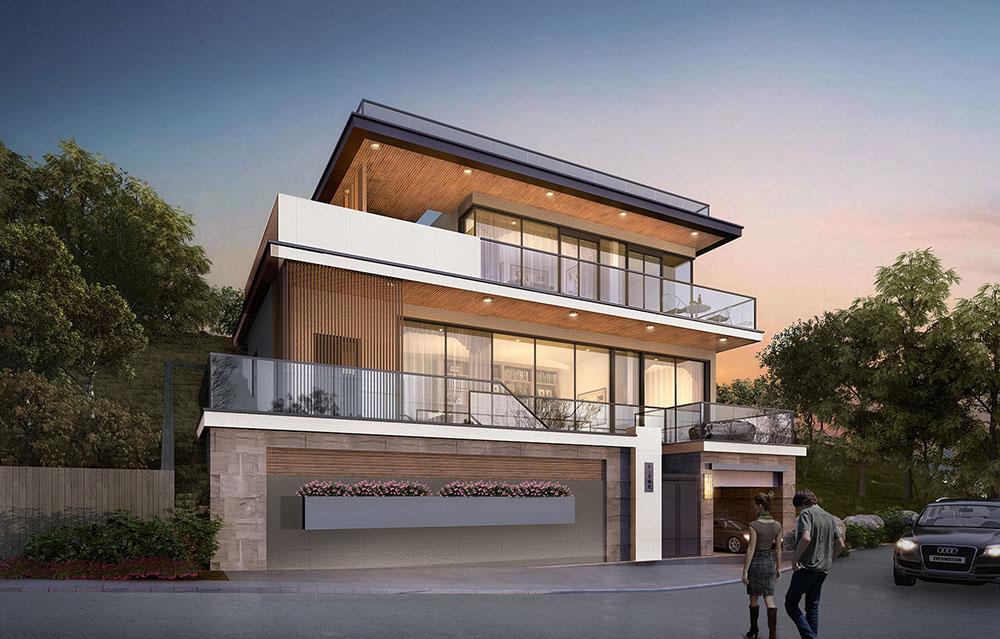 """設計""""山海""""經:這里的每棟別墅都是一線海景房"""