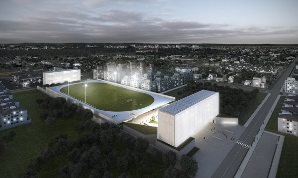 Sports Education Campus in Porto Alegre / OSPA