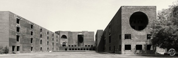 艾哈迈德巴德印度管理学院 Indian Institute of Management Ahmedabad by 路易斯·康 Louis I. Kahn