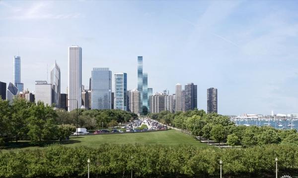 世界上最高的由女性建筑师设计的建筑——芝加哥