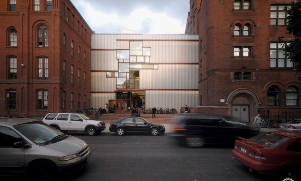 普瑞特学院 希金斯大厅 Pratt Institute Higgins Hall Insertion by steven holl