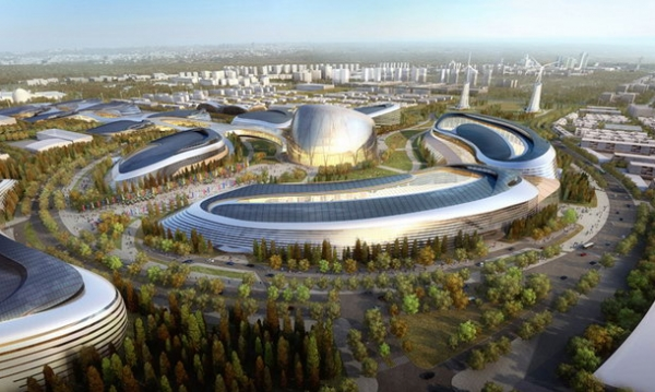 AS+GG在阿斯塔纳世博会竞赛胜出/AS+GG Wins Competition for Astana World EXPO