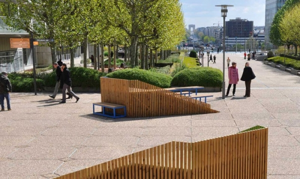 DUNE Street Furniture System by FERPECT CollectivePerfect