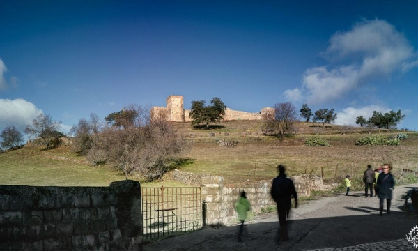 EERJ. Adaptation of the inner ward of El Real de la Jara Castle.