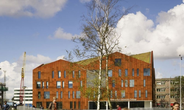 Mecanoo-Designed Amsterdam University College Opened