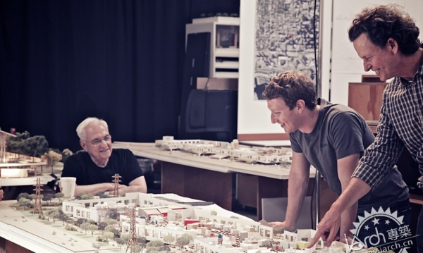 For Facebook, Frank Gehry Designs A Paradise For 2,800 Engineers