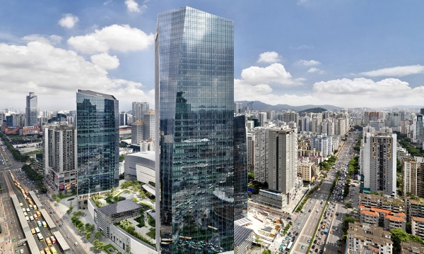 Taikoo Hui Green Roof and Plazas / ArquitectonicaGEO