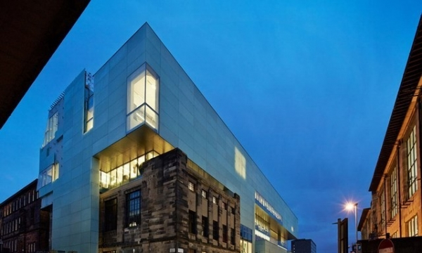 格拉斯哥艺术学院里德大楼 Reid Building Glasgow School of Art by Steven Holl