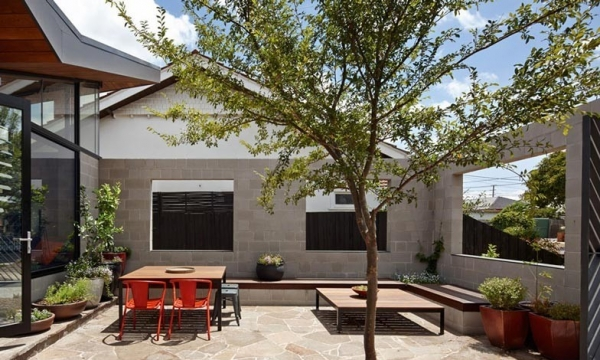 费尔菲尔德住宅 Fairfield Hacienda house by MRTN Architects