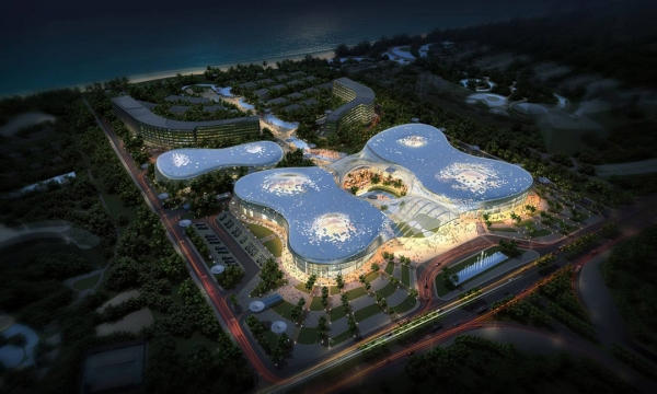 Haitang Bay CITS Shopping Center / VP