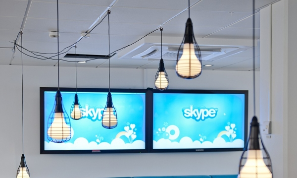 A new home for Skype Skype的新家