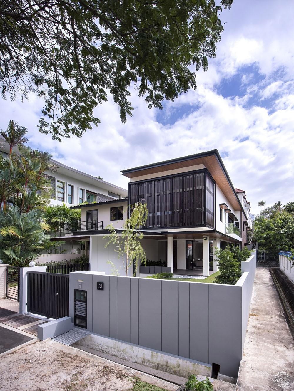 围屏住宅/ ADX Architects第1张图片