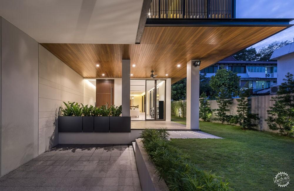 围屏住宅/ ADX Architects第2张图片