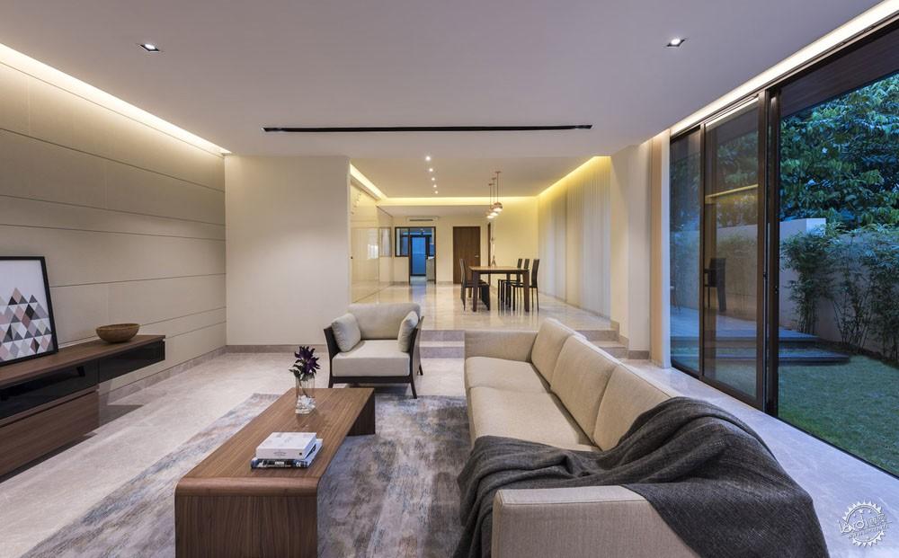 围屏住宅/ ADX Architects第3张图片