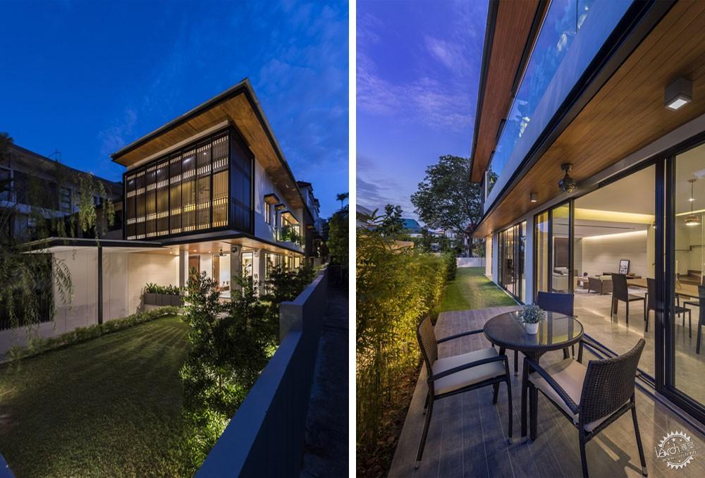 围屏住宅/ ADX Architects第6张图片