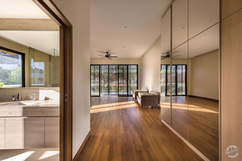 围屏住宅/ ADX Architects第8张图片