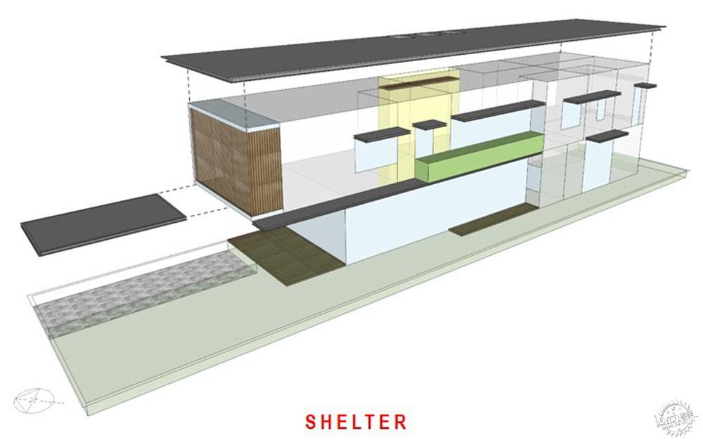 围屏住宅/ ADX Architects第18张图片