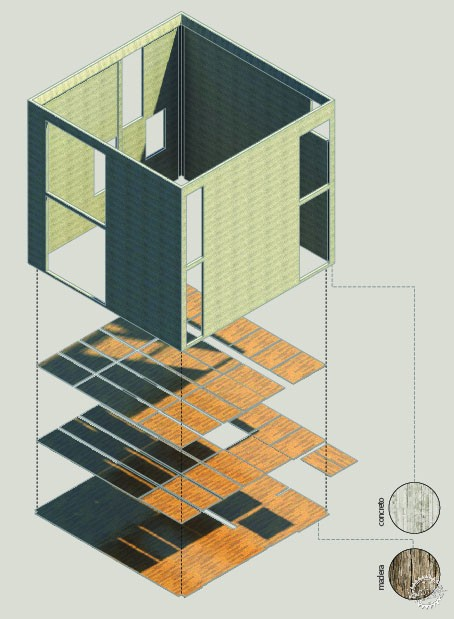 方块住宅/ Diez+Muller Arquitectos第3张图片