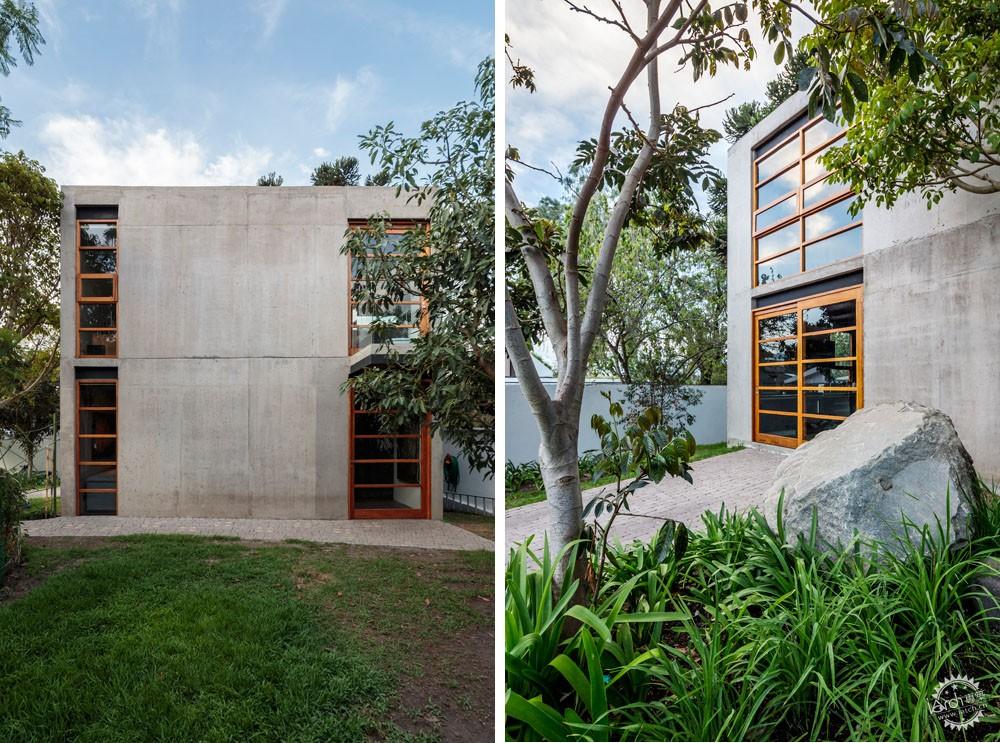 方块住宅/ Diez+Muller Arquitectos第2张图片