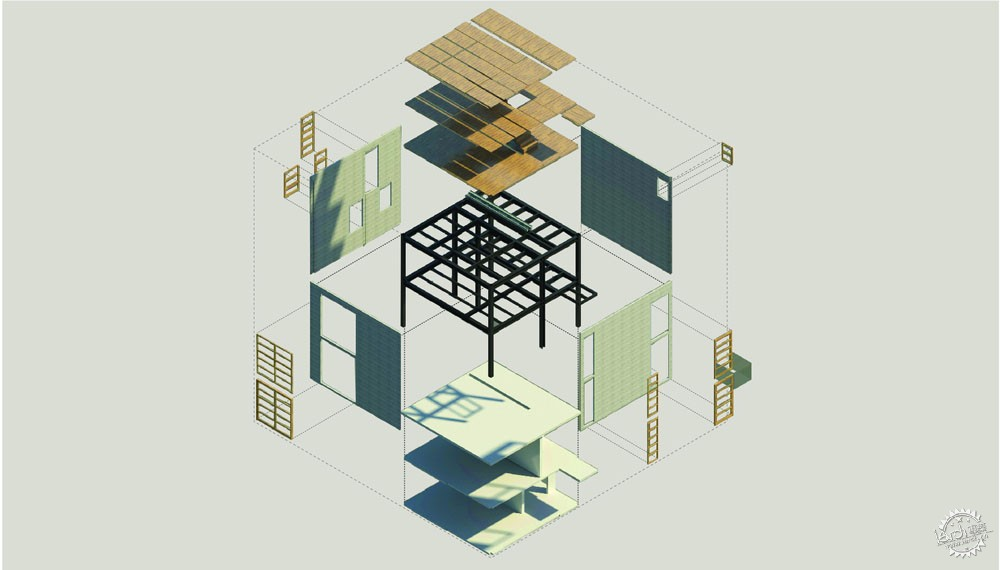 方块住宅/ Diez+Muller Arquitectos第6张图片