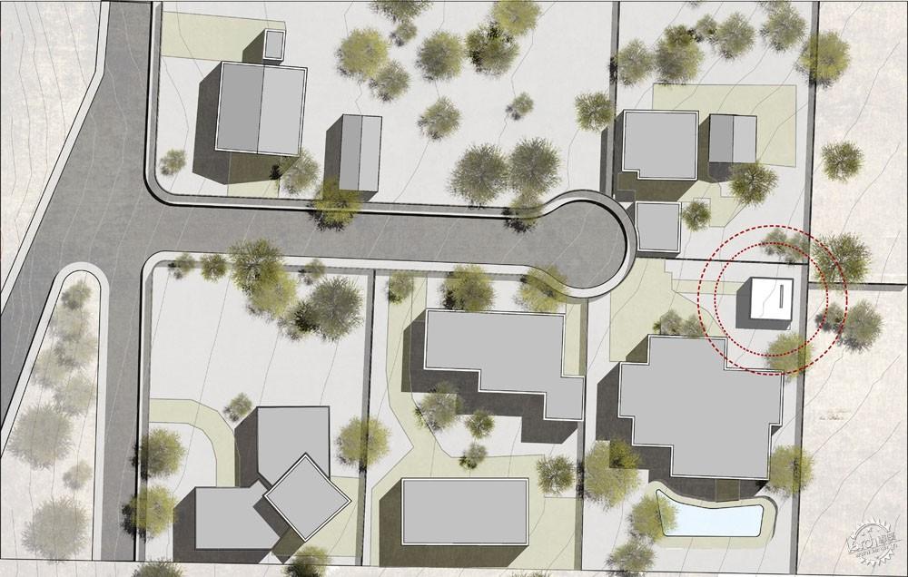 方块住宅/ Diez+Muller Arquitectos第9张图片