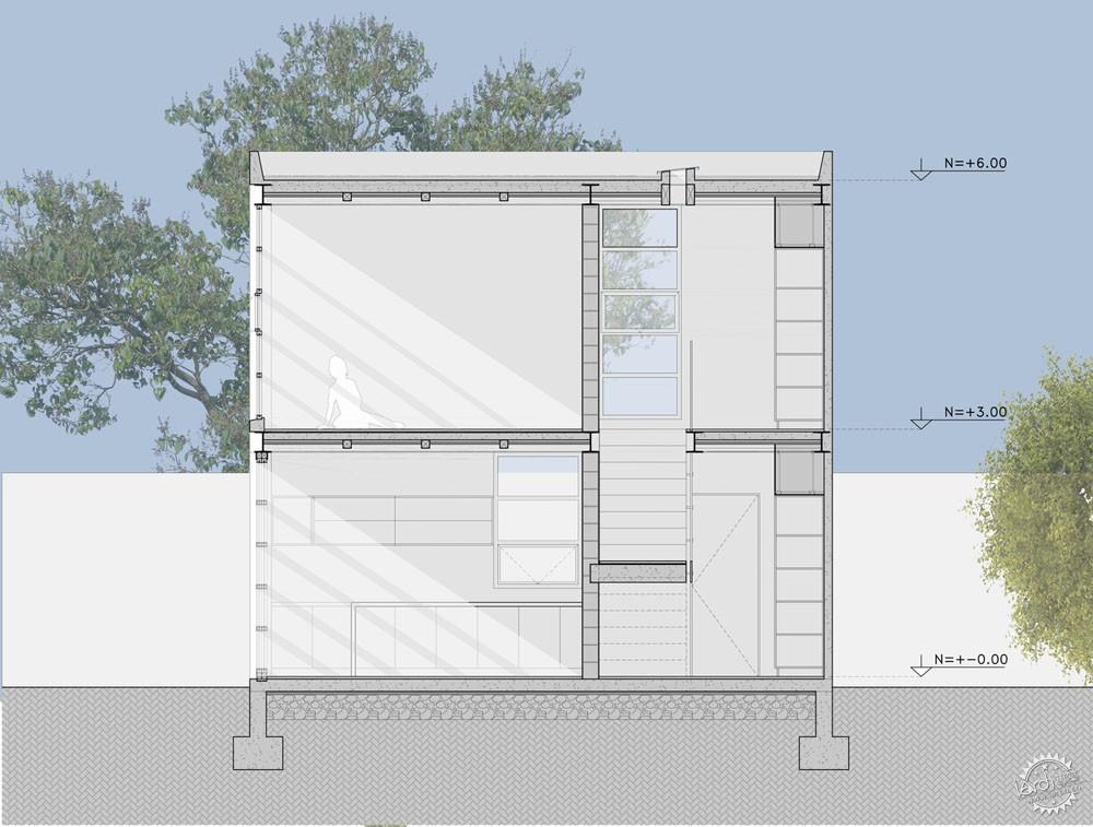 方块住宅/ Diez+Muller Arquitectos第11张图片