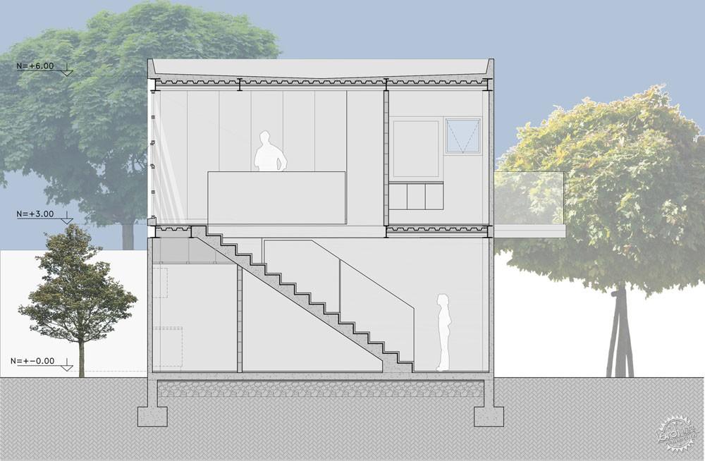 方块住宅/ Diez+Muller Arquitectos第12张图片