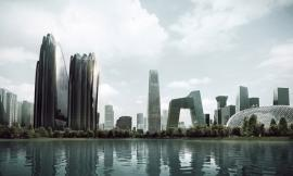 "MAD's ""Chaoyang Park Plaza""Breaks Ground"