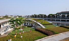 越南乡下结形幼儿园 FARMING KINDERGARTEN BY VO TRONG NGHIA ARCHITECTS