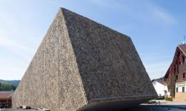 德国布莱巴赫市音乐厅 STONE-CLAD CONCERT HALL IN BLAIBACH BY PETER HAIMERL ARC...