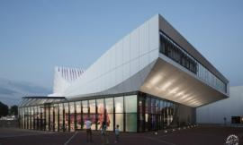 荷兰SPIJKENISSE市DE STOEP剧院 THEATRE DE STOEP BY UNSTUDIO