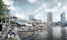 Floating Hawker Centre for Singapore / SPARK