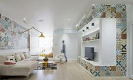 越南旧公寓改造 HT Apartment by Landmak Architect