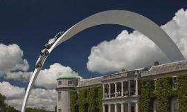 Mercedes-benz Sculpture, Goodwood Festival Of Speed 2014