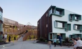 洛杉矶宽街集合住宅 Broadway Housing by Kevin Daly Architects