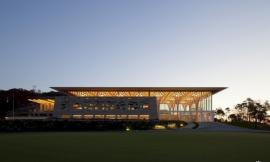 首尔九桥高尔夫俱乐部 Nine Bridges Country Club by Shigeru Ban Architects