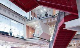 伦敦麦格理银行 Macquarie Bank London by Clive Wilkinson Architects