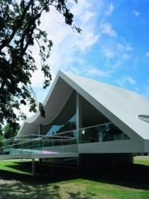 Serpentine Gallery Pavilion 2003 by Oscar Niemeyer 奥斯卡 尼迈耶